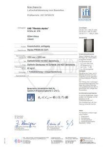 sarvuotos durys sertifikatas 5