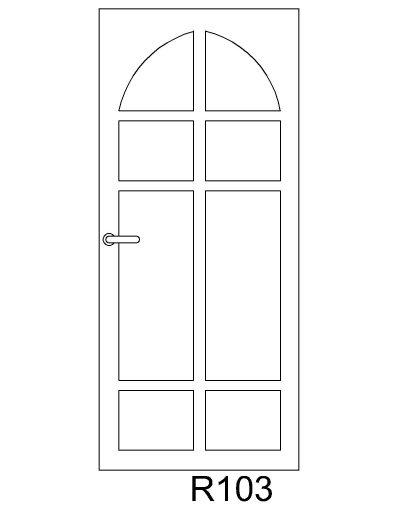 sarvuotos-durys-R103