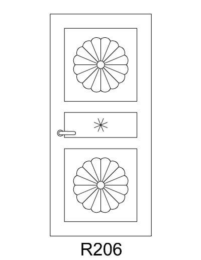 sarvuotos-durys-R206