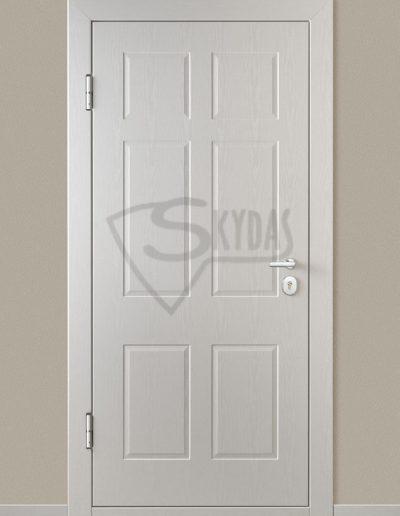 Baltos SKYDO durys
