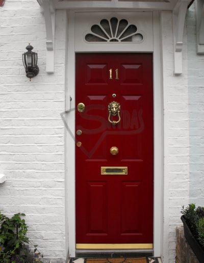 Security Door for Conservation Areas SKYDAS