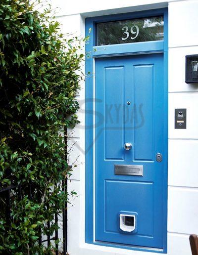 Skydas apsaugines RC3 namo durys