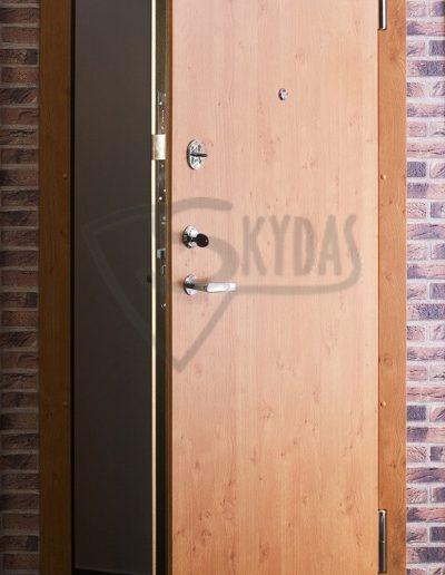 Skydas buto durys lygios akcija