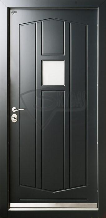 Skydas sarvuotos durys skandinaviskos