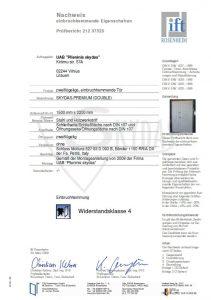 sarvuotos durys sertifikatas 1