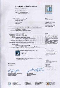 sarvuotos durys sertifikatas 2