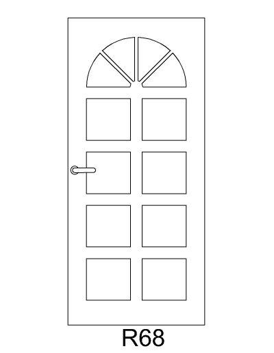 sarvuotos-durys-R68