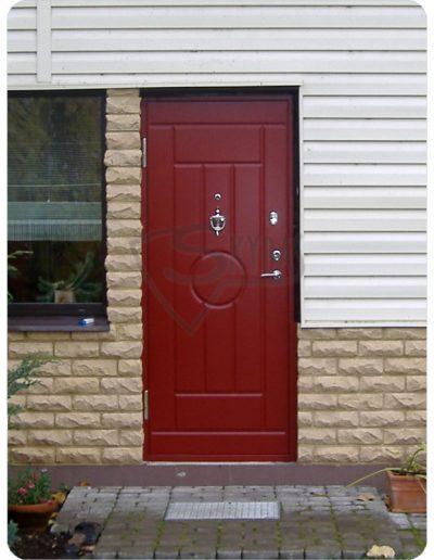 Durys namui Skydas raudonas