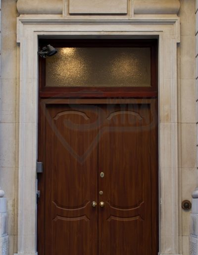 Luxury Doors with Motorised Locking