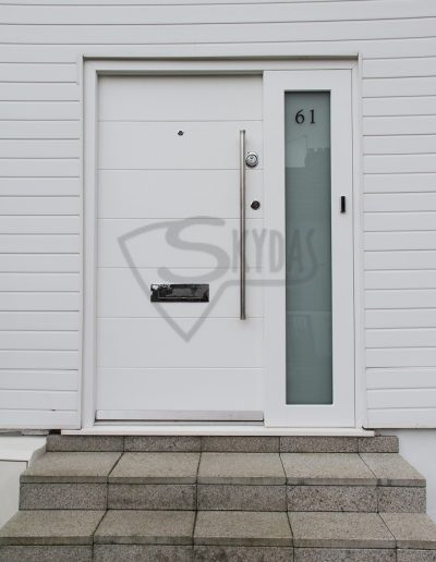 SKYDAS Security Door RC3 with side light