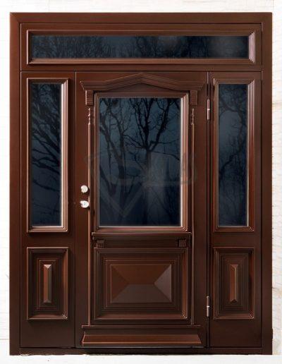 SKYDAS darvuotos iejimo durys sudetingo dizaino