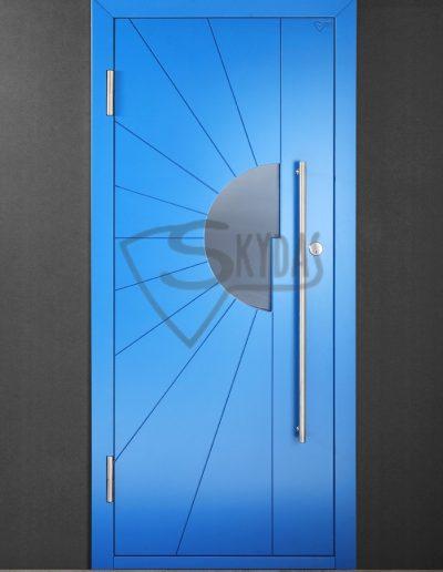 SKYDAS namo durys žydros