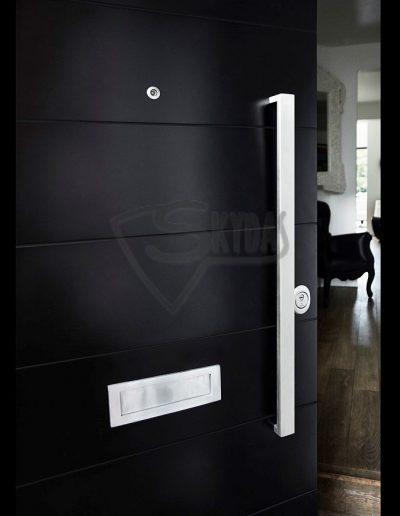 Skydas apsaugines durys detale
