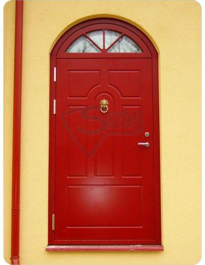 Skydas durys arkinis virsduris