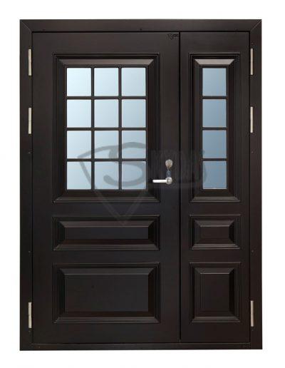 Skydas sarvo durys su stiklu