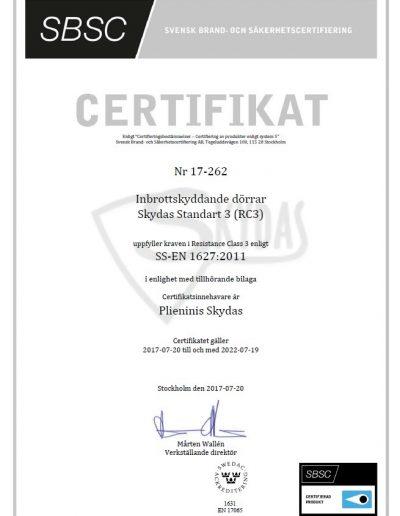 Skydas Standart 3 SBSC